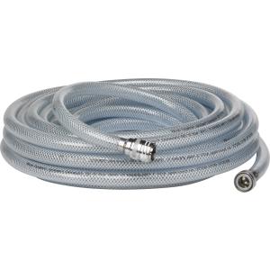 Vikan GmbH Vikan Kaltwasser Schlauch, 15000 mm, Wasseranschlusskupplung für Wasserhahn, Farbe: weiß 93325