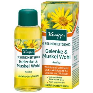 Kneipp® Gesundheitsbad Gelenke & Muskel Wohl - Arnika, Wohltuend, wärmend und reaktivierend, 100 ml - Flasche