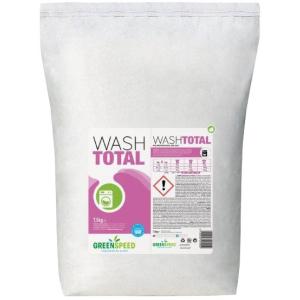 Greenspeed B.V. Greenspeed Wash Total Waschpulver, Ökologisches Universal-Waschpulver für alle Temperaturen, 7,5 kg - Sack 53009