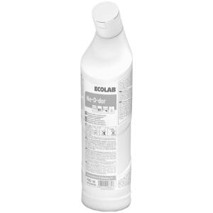 ECOLAB Ne-O-dor Geruchsbinder, Biologischer Geruchsbinder für Bodenabflüsse, 750 ml - Flasche