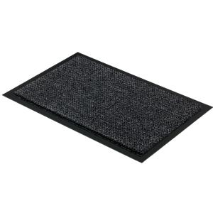Fußmatten Golze GRAPHIT Türmatte, 90 x 150 cm, Fußmatte aus Polyamid für den Innenbereich, Farbe: anthrazit