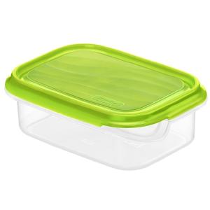 Körbe, Behälter, Schüsseln & Boxen Rotho RONDO Kühlschrankdose, Frischhaltedose aus Kunststoff , Füllmenge: 500 ml, transparent / apple grün