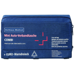 Mini Verbandtasche Combi, Verbandtasche aus Nylon, DIN 13 164