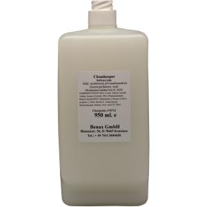 Cleankeeper Milde Seifencreme, 950 ml - Flasche -C-, weiĂź, Zitronenduft