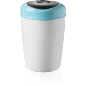 Sangenic Simplee Windeleimer, Für eine einfache und schnelle Windelentsorgung, Farbe: weiß / blau
