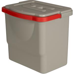 Sprintus Ersatzeimer mit Deckel, Für CombiX Xl und CombiX PRO, 6 Liter - Eimer, rot