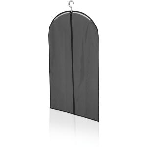 LEIFHEIT Kleiderhülle, kurz, Kleiderschutzhülle hochwertig und langlebig verarbeitet, Farbe: schwarz