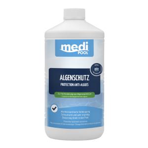 mediPOOL GmbH mediPOOL Algenschutz, Zur Verhinderung von Algenwachstum, 1000 ml - Flasche 0604601MP