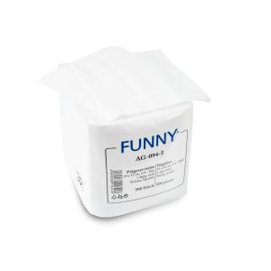 Servietten, 33 x 33 cm, 1-lagig, weiß, 1/4 Falz, Feste, saugstarke Papier-Serviette, 1 Packung = 500 Stück AG-094-5