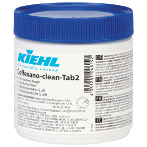 Kiehl-Unternehmens-Gruppe Kiehl Coffexa-clean-Tab2 Kaffeemaschinenreiniger-Tabs, Verhindert Ablagerungen und trägt zum Werterhalt Ihrer Maschine bei, 1 Dose = 100 Tabs j5516kf