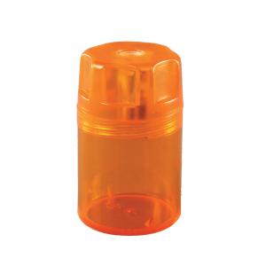 Herlitz Dosenanspitzer, Anspitzer aus Kunststoff, 1 Stück, farbig sortiert 8680001