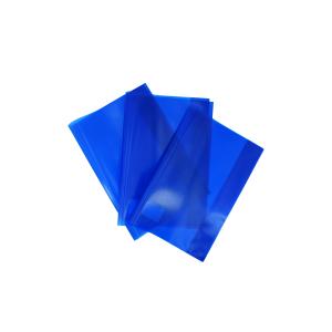 Herlitz A4 Hefthülle, Klarsichthülle dient zum optimalen Schutz vor Dreck, 1 Packung = 25 Stück, blau 52265754