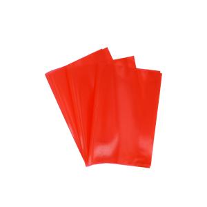 Herlitz A4 Hefthülle, Klarsichthülle dient zum optimalen Schutz vor Dreck, 1 Packung = 25 Stück, rot 52265747