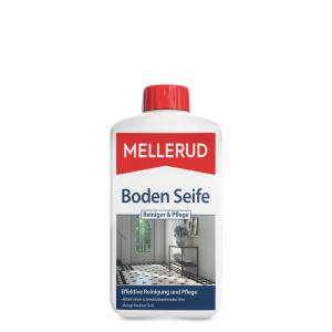 MELLERUD Boden Seife Reiniger & Pflege, Sorgt für frische Farbe und Glanz, 1000 ml - Flasche