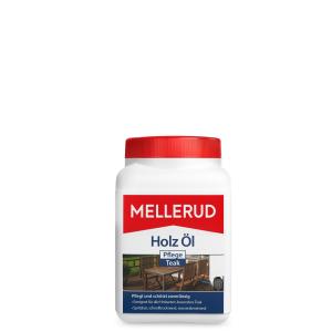 MELLERUD CHEMIE GMBH MELLERUD Holz Öl Pflege Teak , Streich- und Sprühbare wasserbasierende Pflege, 750 ml - Dose 2001002794