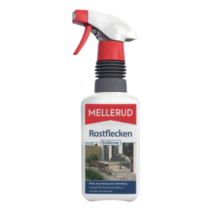 MELLERUD Rostflecken Entferner, Gegen hartnäckigste Verschmutzung , 500 ml - Flasche