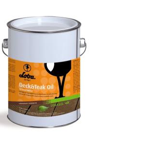 LOBA GmbH & Co. KG LOBA LOBASOL® Deck & Teak Oil Color Spezialöl, Transparentes Spezialöl für den Außeneinsatz, 12 l - Eimer 10615-35
